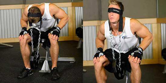 укрепление шеи, укрепление мышц шеи, упражнения для укрепления шеи